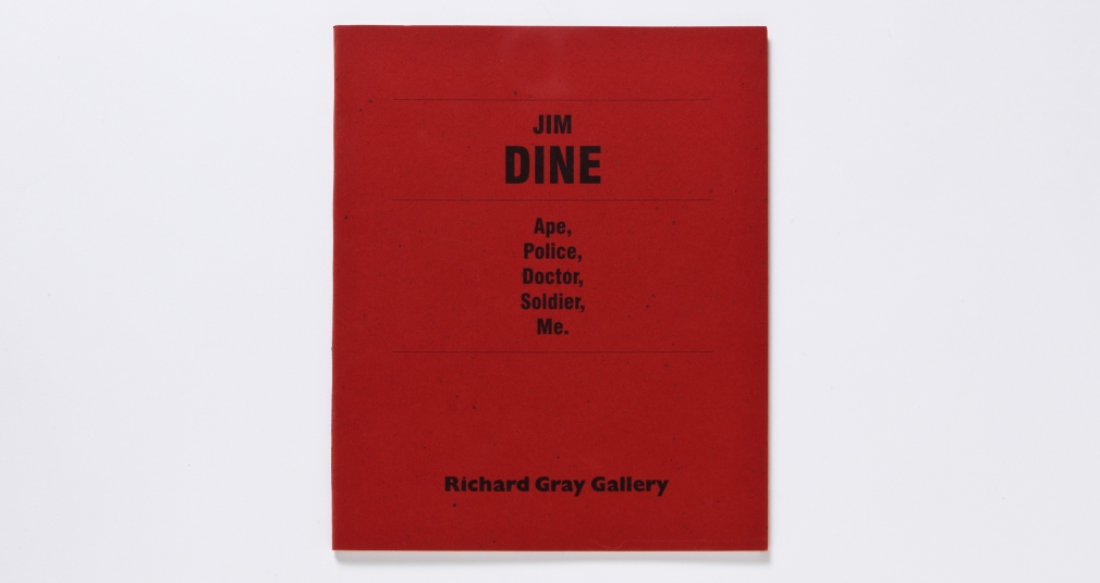 jim dine ape police doctor soldier me catalogue