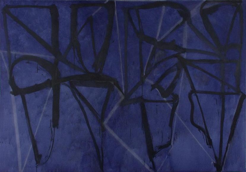 Blue Horizontal, 1987