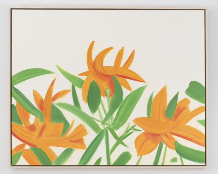 Alex Katz (b. 1927), Flowers, 2011