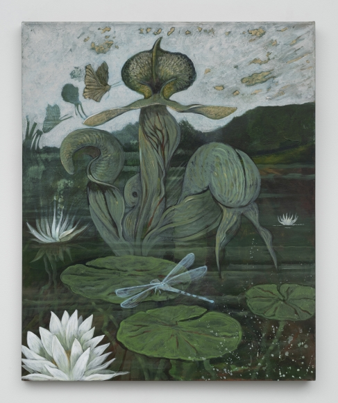 Ellen Lanyon (1926-2013), An Enigmatic Lotus, 2009