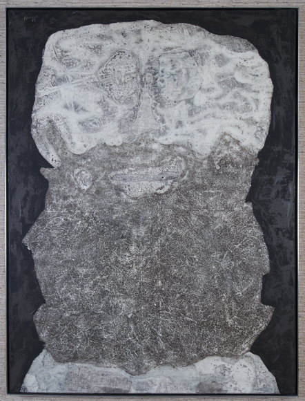 Jean Dubuffet Barbe des Supputation Oil on canvas