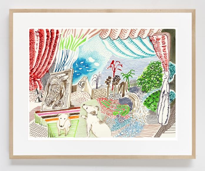 Ruby Dreaming, 2019, Inkjet print on paper