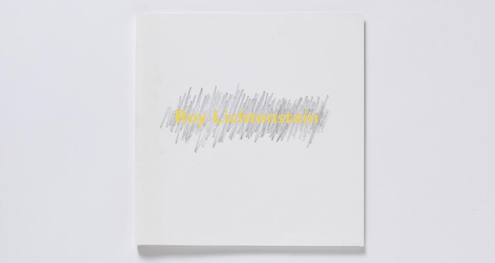 Recent Drawings and Sculpture roy lichtenstein catalogue
