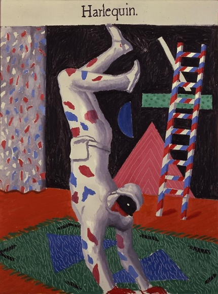 Harlequin, 1980 Oil on canvas