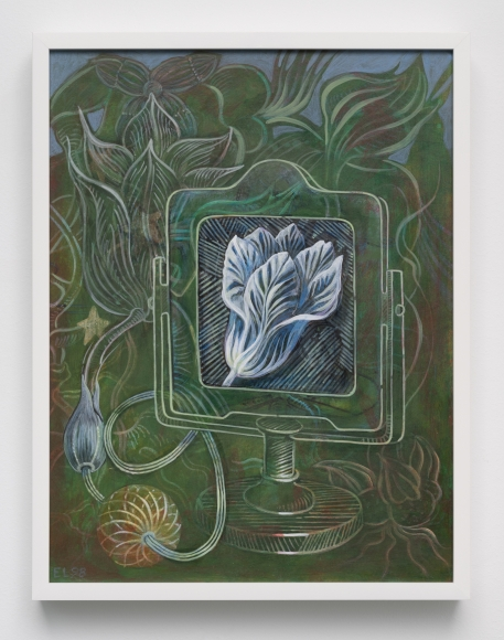 Ellen Lanyon (1926-2013), Blue Tulip, 1998