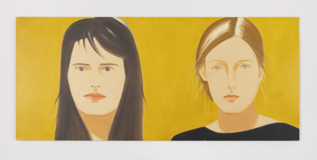 Alex Katz Inka and Zophia, 2009