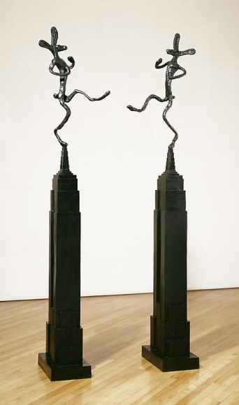 Empire State with Bowler, Mirrored, 1997