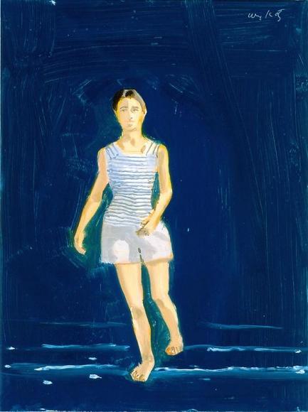 Lara, 2002 Oil on board