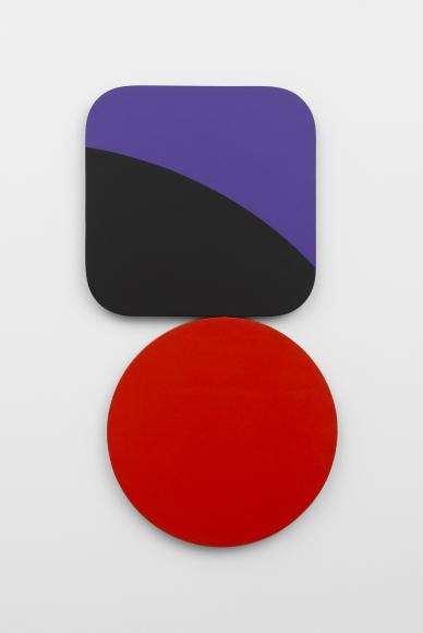 Constellation: Square Circle Violet Black Red, 1967