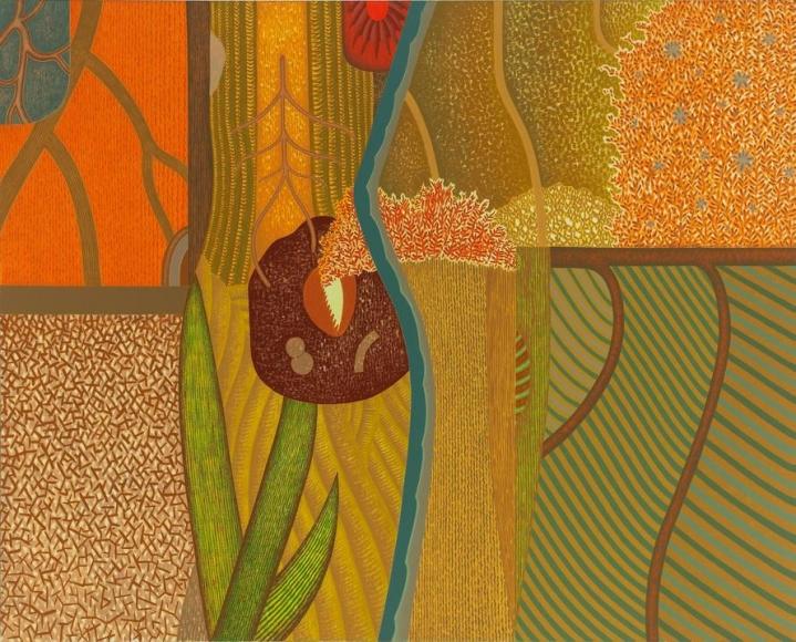Meditations, 1989 Oil on linen