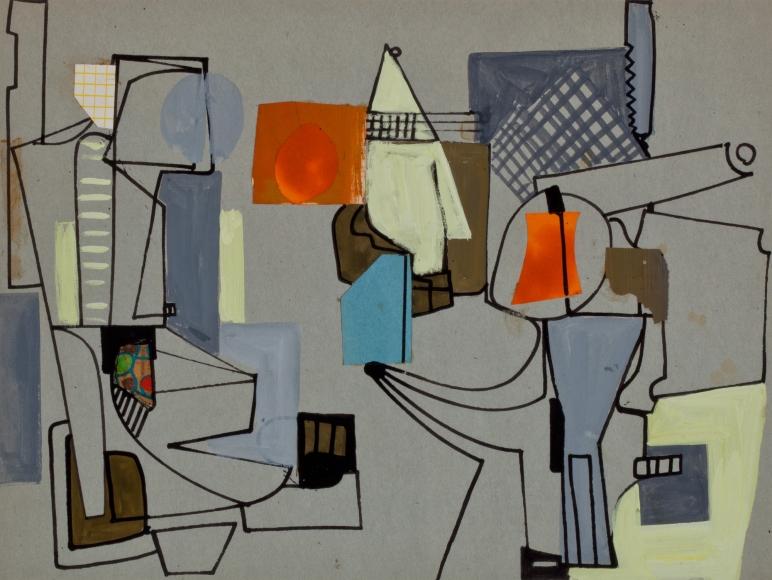 Rothschild, Untitled, ca. 1945
