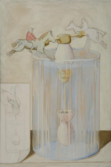Race Course in a Vase, 1969