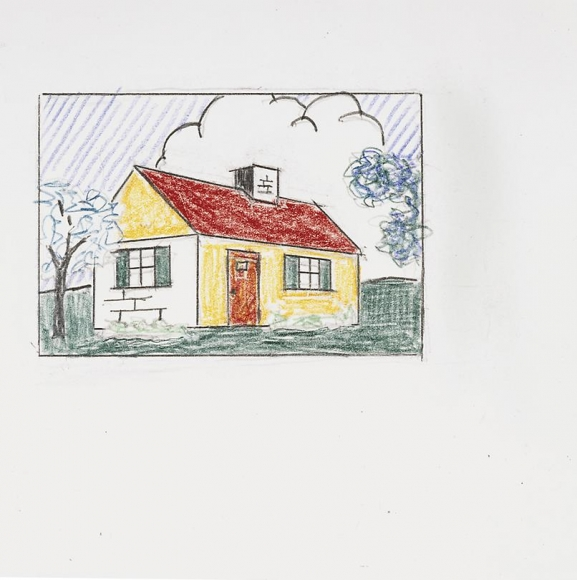 House with Cloud, 1997