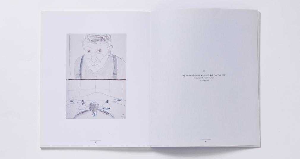 david hockney intimate eye 2004 catalogue