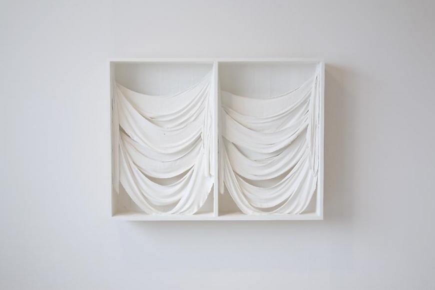 Untitled (Double Drape Box), 2011