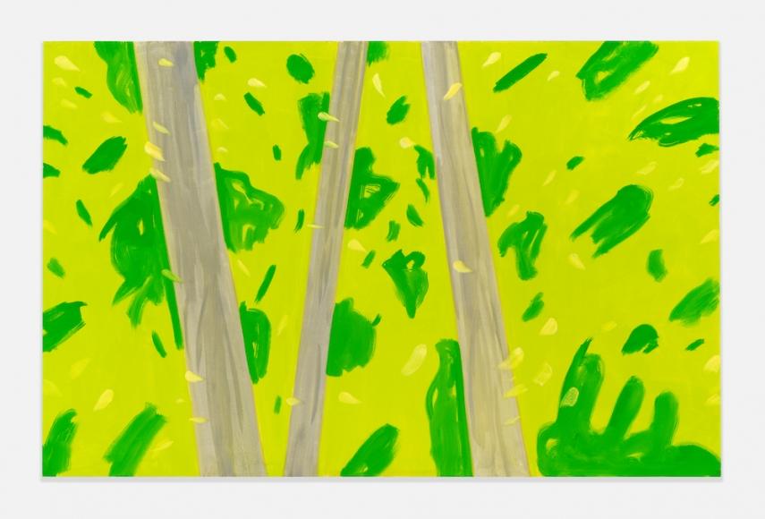 Three Trees 3, 2016, Oil on linen