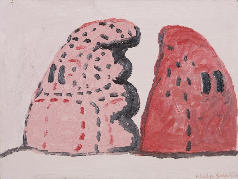 Philip Guston Two Heads, 1972