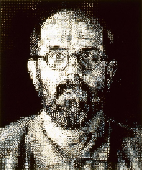 Self-Portrait, 1995 72 color silkscreen
