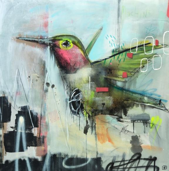 """Jérome Rochette """"Oiseau Mouche"""" Galerie LeRoyer"""
