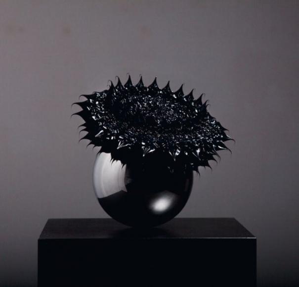"""Anke Eilergerhard """"Himmlisch Black"""" Galerie LeRoyer"""