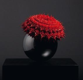 """Anke Eilergerhard """"Himmlisch Red"""" Galerie LeRoyer"""
