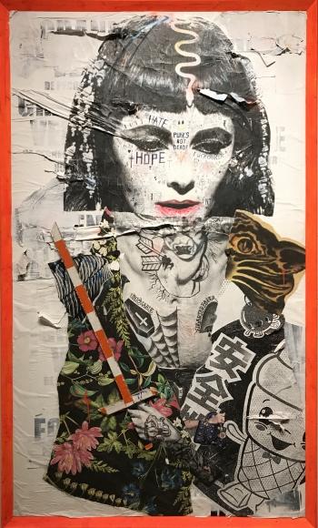 Stikki Peaches, Galerie LeRoyer