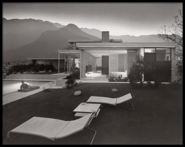 Kaufman House, Richard Neutra, Palm Springs, California, 1949
