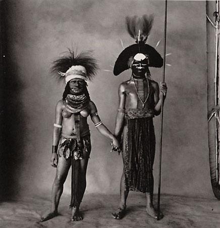 Young Enga Couple, New Guinea, 1970