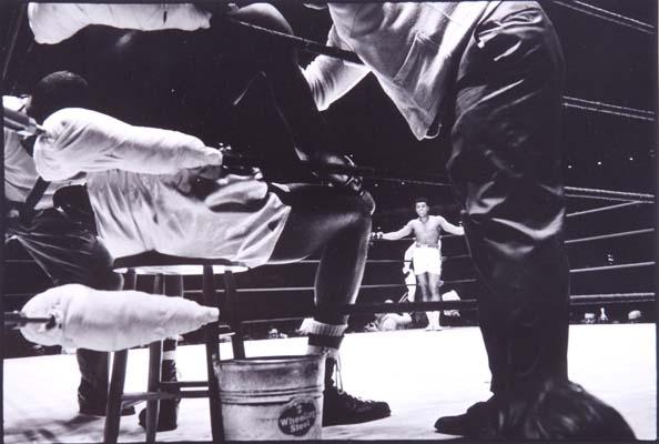Ali vs. Terrell, (View Through Ropes), Madison Square Garden, New York, 1967
