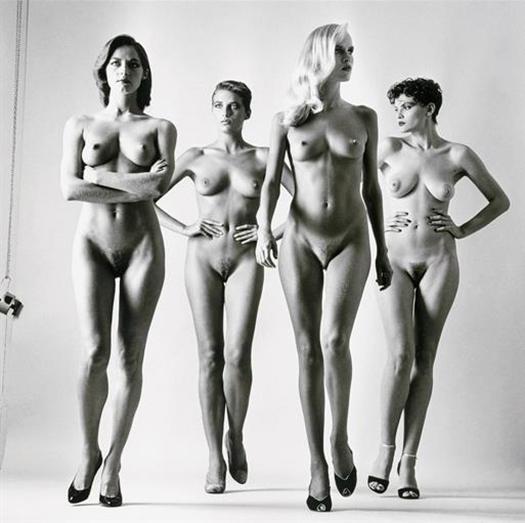 Sie Kommen (Naked) Paris, 1981
