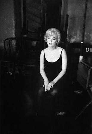 Marilyn Monroe on the 20th Century Fox Studios set of Let's Make Love, 1960