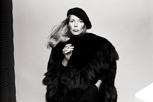 Joni Mitchell, Los Angeles, 1976