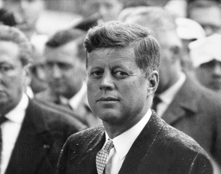 JFK, Paris, 1961