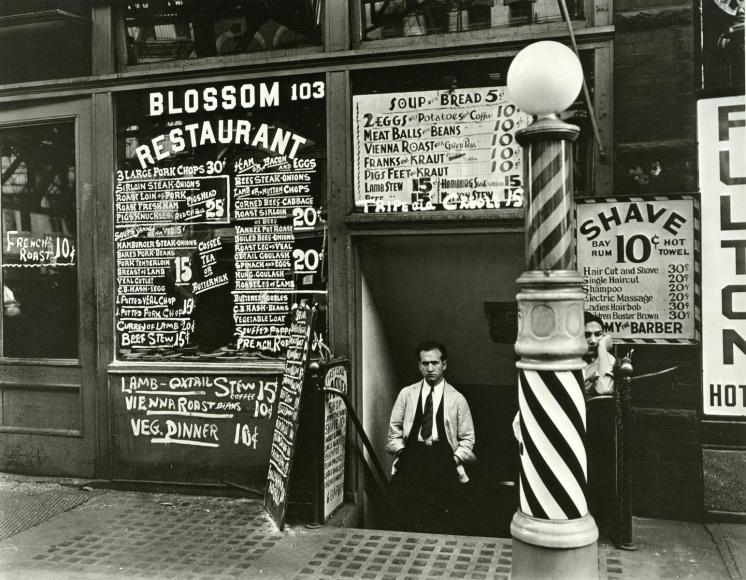 Blossom Restaurant, 1935