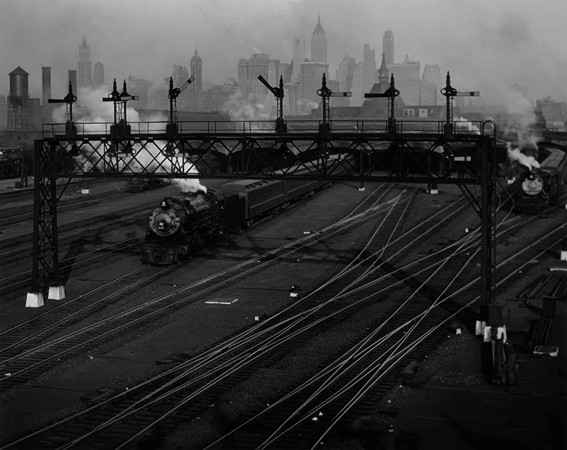 Hoboken Railroad Yards, New Jersey, 1935