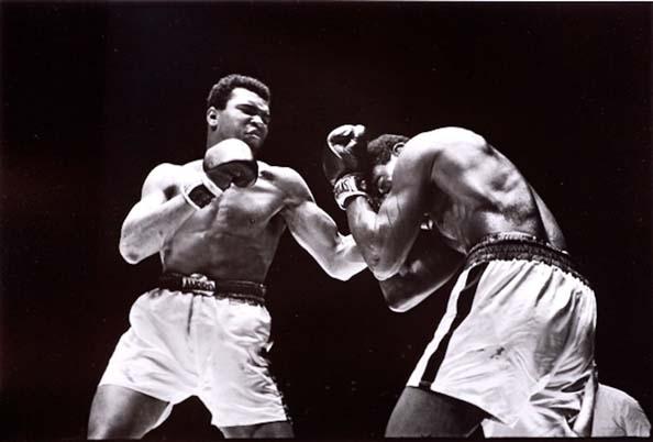 Ali vs. Ernie Terrell at the Houston Astrodome, February, 1967