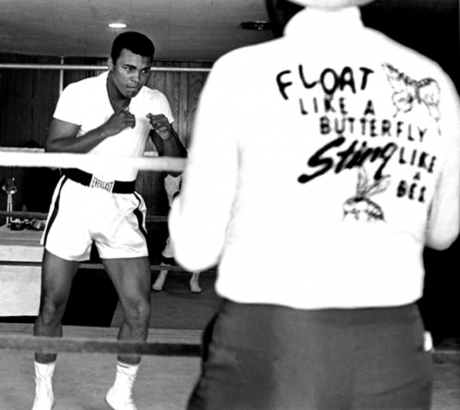 Muhammad Ali, Miami, (Float Like a Butterfly, Sting Like a Bee), 1964