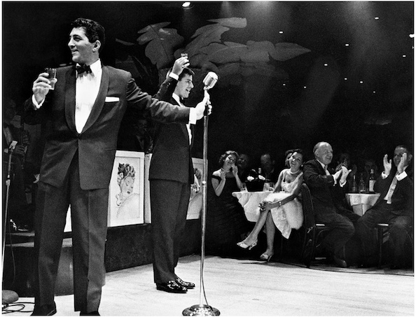 Dean Martin and Jerry Lewis Performing at Mocambo, Los Angeles, 1956