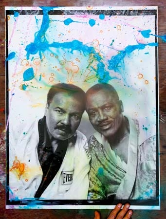 Muhammad Ali and Joe Frazier, Philadelphia, 2002