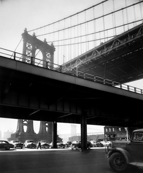 Triple Bridge, New York, 1950