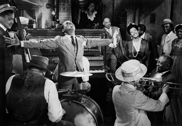 "Louis Armstrong and Billie Holiday, ""New Orleans,"" Hollywood, 1949"
