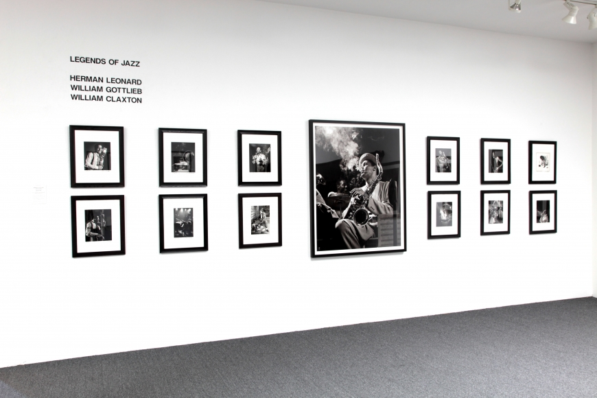 Legends of jazz photography exhibitions fahey klein gallery