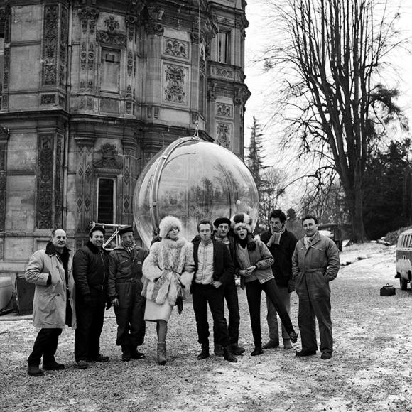 Bubble Crew (Eli, Me, Ali, Simone, Stanley, 151 and the French Boys), Paris, 1963