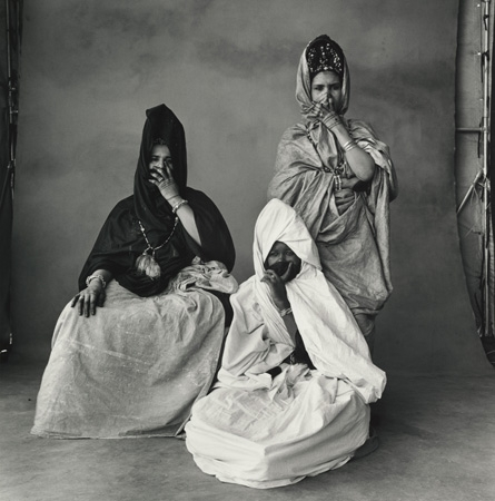 Three Guedras-One in White, Morocco, 1971