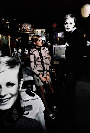 Twiggy Bar, New York, 1967