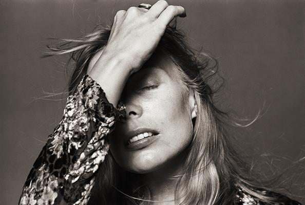 Joni Mitchell, Los Angeles, 1988