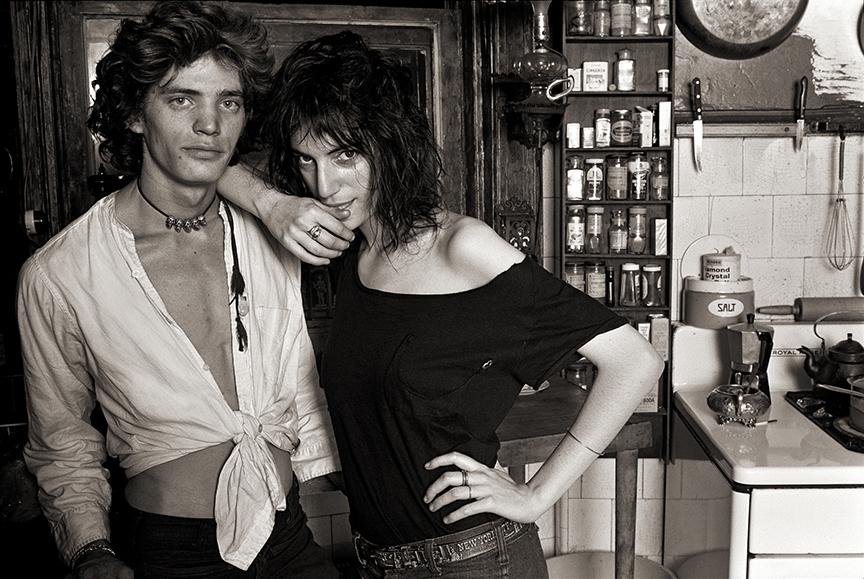"Norman Seeff, Robert Mapplethorpe & Patti Smith, New York, 1969 ""Robert & Patti II"""