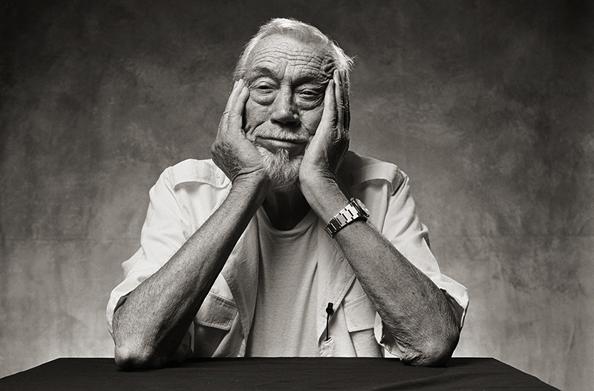 John Huston, Los Angeles, 1985