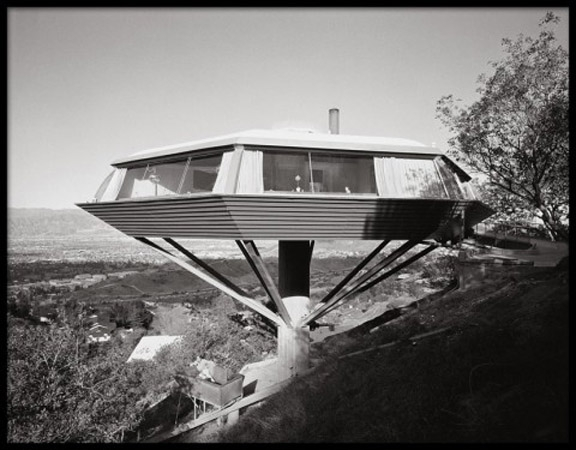 Chemosphere, John Lautner, Malin Residence, Hollywood, California, 1961