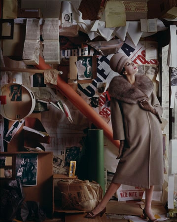 After Nevelson 2, New York, 1960